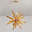 tanie Żyrandole-QIHengZhaoMing 9 świateł Żyrandol Światło rozproszone Malowane wykończenia Metal 110-120V / 220-240V Ciepła biel Zawiera żarówkę