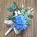 povoljno Seksi donje rublje-Cvijeće za vjenčanje Boutonnieres / Wrist Corsage Vjenčanje / Party / večernja odjeća Poliester 3.94 inch
