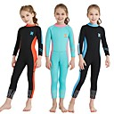 cheap Diving Masks, Snorkels & Fins-Dive&Sail Girls' Full Wetsuit 2.5mm SCR Neoprene Diving Suit Stretchy Long Sleeve Back Zip Autumn / Fall / Summer
