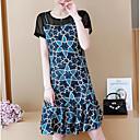cheap Rugs-women's linen / cotton shift dress knee-length
