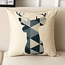 cheap Pillow Covers-1 pcs Polyester Pillow, Geometric Patterned / Modern Style