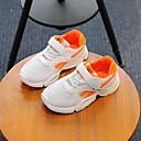 זול נעלי ילדות-בנות נעליים רשת / PU אביב קיץ נוחות נעלי אתלטיקה הליכה ל ילדים שחור / כתום / ירוק