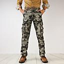 זול מכנסיים ושורטים לגברים-בגדי ריקוד גברים Military צ'ינו / מכנסי טרנינג מכנסיים להסוות