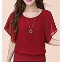 preiswerte Moderinge-Damen Solide Baumwolle Bluse