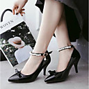 cheap Women's Heels-Women's Patent Leather Spring Comfort Heels Stiletto Heel Black / Gray / Pink / Daily