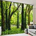 preiswerte Herrenmode Accessoires-3D Vorhänge Schlafzimmer Geometrisch Polyester Bedruckt / Verdunkelung