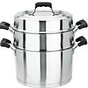billige Hundetøj-Køkkengrej Rustfrit stål Rund Køkkengrej 1 pcs