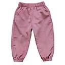 tanie Spodnie dla niemowląt-Dziecko Dla dziewczynek Podstawowy Jendolity kolor Spodnie / Brzdąc