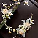 cheap Party Headpieces-Alloy Flowers with Flower 1pc Wedding / Special Occasion Headpiece