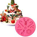 halpa Leivonta & Leivonnaiset Spatulas-1kpl Silikoni Multi-function Christmas 3D For Keittoastiat kakku Muotit Bakeware-työkalut