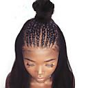 tanie Peruki z włosów ludzkich-Włosy virgin 360 Przednie Peruka Włosy brazylijskie Yaki Straight Peruka Głębokie rozstanie 150% Gęstość włosów z Baby Hair Damskie Natutalne Damskie Długie Peruki koronkowe z naturalnych włosów