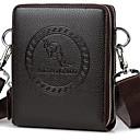 billige Card & ID Holder-Unisex Poser PU Stresskoffert Glidelås / Solid Svart / Brun