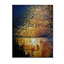 povoljno Ulja na platnu-Hang oslikana uljanim bojama Ručno oslikana - Sažetak Comtemporary / Moderna Platno