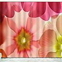 abordables Pendientes-Cortinas 3D Sala de niños Geométrico Poliéster Impreso