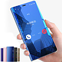cheap Cell Phone Cases & Screen Protectors-Case For Samsung Galaxy Note 9 / Note 8 with Stand / Mirror / Flip Full Body Cases Solid Colored Hard PC for Note 9 / Note 8 / Note 5