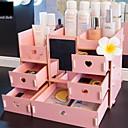 זול ארגון השולחן-עץ מלבן מגניב בית אִרגוּן, 1pc מארגני תכשיטים / אחסון מייקאפ