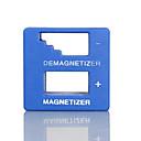 ieftine Set Unelte-nou de înaltă calitate magnetizator demagnetizer instrument albastru șurubelniță magnetice ridica instrument șurubelniță