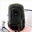 זול High School Bags-יוניסקס שקיות בַּד תרמיל רוכסן שקד / ירוק צבא / חאקי