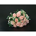 olcso Esküvői virágok-Esküvői virágok Csokrok Esküvő / Menyegző Poliészter 11-20 cm