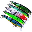 cheap Fishing Lures & Flies-5 pcs Fishing Lures Hard Bait Plastic Outdoor Bait Casting / Lure Fishing / General Fishing