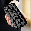 preiswerte Handyhüllen & Bildschirm Schutzfolien-Hülle Für Apple iPhone X / iPhone 8 Transparent Rückseite Geometrische Muster Weich TPU für iPhone X / iPhone 8 Plus / iPhone 8