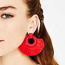 olcso Divat fülbevalók-Női Rojt Függők - Bojt, Európai, Divat Piros / Rózsaszín / Világoszöld Kompatibilitás Napi Hivatal és karrier
