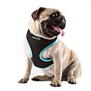 cheap Dog Collars, Harnesses & Leashes-Cat Dog Harness Adjustable / Retractable Breathable Solid Nylon Mesh Orange Rose Green Blue