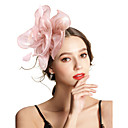 cheap Party Headpieces-Women's Vintage / Elegant Headband / Hair Clip / Fascinator - Solid Colored Flower