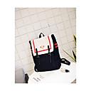 זול Intermediate School Bags-בגדי ריקוד נשים שקיות בַּד תיק לבית הספר רוכסן שחור