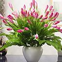 ieftine Flori Artificiale-Flori artificiale 1 ramură Clasic Pastoral Stil Orhidee Față de masă flori
