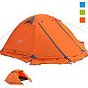 cheap Tents, Canopies & Shelters-FLYTOP 2 person  Outdoor Backpacking Tent Windproof Lightweight Rain-Proof UV Resistant UPF50+ Poled One Room Double Layered >3000 mm Camping Tent  for Camping / Hiking / Caving Polyster 210*270*115