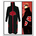 cheap Movie & TV Theme Costumes-Inspired by Naruto Akatsuki Anime Cosplay Costumes Cosplay Suits Anime Long Sleeve Cloak For Men's