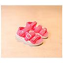 baratos Conjuntos para Meninos-Para Meninos / Para Meninas Sapatos Sintéticos Verão Conforto Sandálias para Branco / Preto / Pêssego