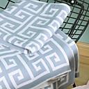billige Tæpper ogplaider-Sofa kaste, Geometrisk Bomuld / Polyester comfy dyner