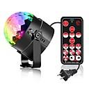 billige Scenelys med-YouOKLight 1pc 6 W 4 LED Fjernkontroll LED Scenelys RGB 85-265 V Hjem / kontor