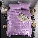 זול כיסוי שמיכות מוצק-סטי שמיכה פאר polyster ג'אקארד 4 חלקים