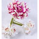 ieftine Flor Artificiales-Flori artificiale 6 ramură Clasic / Single Stilat / Pastoral Stil Hydrangeas Față de masă flori