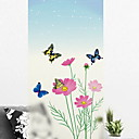 cheap Wall Stickers-Window Film & Stickers Decoration Simple Floral / Simple PVC(PolyVinyl Chloride) Window Sticker
