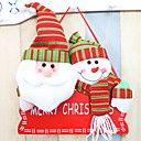 olcso Falmatricák-Karácsonyi díszek Ünneő Pamutszövet Négyzet Újdonságok Karácsonyi dekoráció