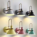 abordables Luces de Techo-JZGLDS Nuevo diseño / Adorable Moderno / Contemporáneo Lámparas de pared Interior / Oficina Metal Luz de pared 110-120V / 220-240V 40 W / E26 / E27