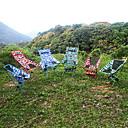 billige Camping Kokeutstyr-Klappstol Utendørs Lettvekt Aluminiumslegering, 600D polyester til Vandring / Strand / Camping - 1 person Grønn / Mørkeblå / Fuksia