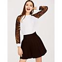ieftine Brățări la Modă-tricou pentru femei - gât rotund leopard