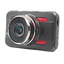 levne Kamery pro zadní pohled-ZIQIAO JL-A80 1920 x 1080 / 1080x720 Auto DVR 170 stupňů Široký úhel CMOS 3 inch TFT Dash Cam s G-Sensor / Parkovací mód / Detekce pohybu Záznamník vozu / automatické zapnutí / vypnutí / WDR / HDR
