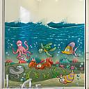 tanie Sukienki dla dziewczynek-Folie okienne i naklejki Dekoracja Matowy / Współczesny Znak PVC Naklejka okienna / Matowy / a