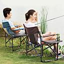 ieftine Car Exterior Lights-Scaun Pliabil Camping În aer liber Portabil, Ușor pânză, Aluminiu pentru Pescuit / Camping / Călătorie - 1 persoană Cafea