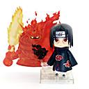 baratos Personagens de Anime-Figuras de Ação Anime Inspirado por Naruto Itachi Uchiha PVC 10 cm CM modelo Brinquedos Boneca de Brinquedo