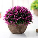abordables Flores Artificiales-Flores Artificiales 1 Rama Clásico Accesorios de Escenario / Estilo Simple Plantas / Florero Flor de Suelo