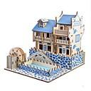 ieftine Puzzle Lemn-Puzzle Lemn / Jucării Logice & Puzzle Scenic / Castel Școală / nivel profesional / Stres și anxietate relief De lemn 1 pcs Pentru copii / Adolescent Toate Cadou