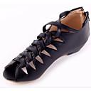 ieftine Flip-Flops de Damă-Pentru femei PU Vară Confortabili Sandale Toc Jos Alb / Negru / Migdală