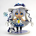 cheap Fishing Tools-Anime Action Figures Inspired by Vocaloid Snow Miku 2018 PVC(PolyVinyl Chloride) 11 cm CM Model Toys Doll Toy